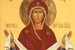 Православные верующие празднуют Покров Пресвятой Владычицы нашей Богородицы и Приснодевы Марии