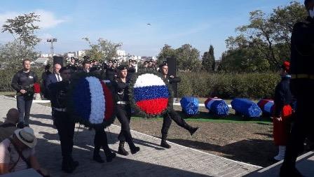 В Севастополе перезахоронили останки французских солдат, павших в ходе Крымской войны
