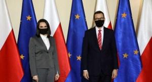 Тихановская попросила Польшу поменять законы ради белорусских мигрантов