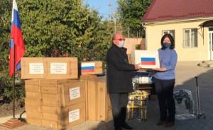 Гуманитарная помощь от Правительства Москвы передана соотечественникам в Приднестровье