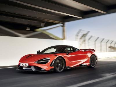 Cамый быстрый McLaren: у него будут особенные шины