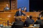 Ратас представил в Рийгикогу пять стратегических целей страны