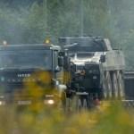 Уступи дорогу! В Латвии началось передвижение военной техники