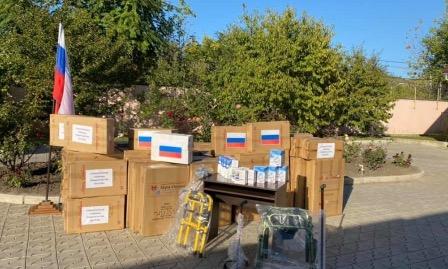 Соотечественники в Приднестровье получили медицинское оборудование из России