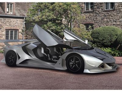 Гиперкар Alieno Arcanum: 24 мотора за 1,5 млн. евро