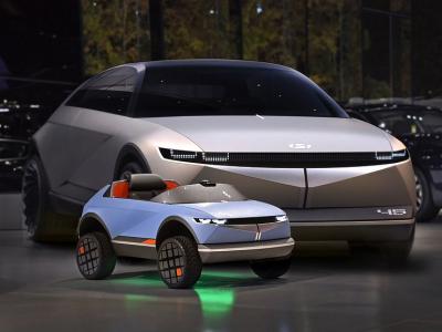 Hyundai представила миникар для маленьких водителей