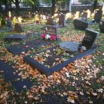 Вандалы осквернили две могилы на Военном кладбище Таллина