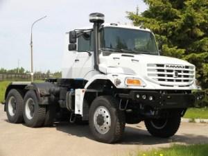 КамАЗ выпустит капотный грузовик: первое фото
