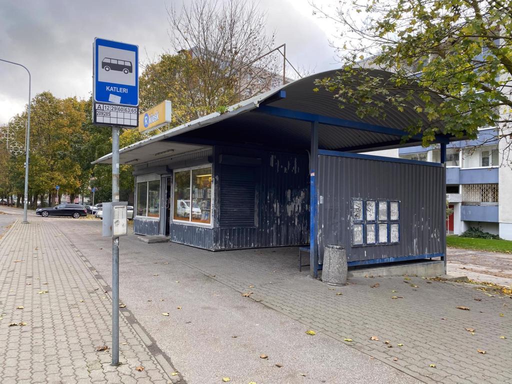 В таллинском Ласнамяэ будут снесены все старые «киоски-ракушки»