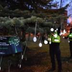 В центре Таллина бесплатно будут раздавать светоотражатели
