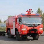 В Брянске неожиданно засветилась российская пожарная машина нового поколения