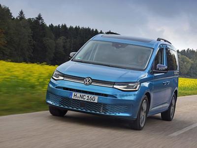 Volkswagen представил новое поколение «каблучка» Caddy