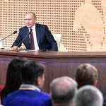 Пресс-конференция Владимира Путина пройдёт с элементами прямой линии