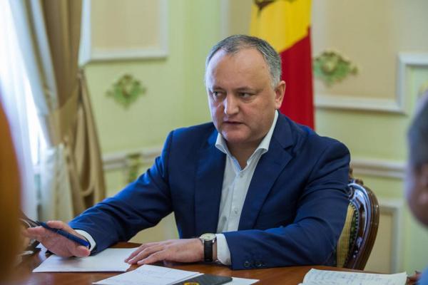 Игорь Додон выступил за сохранение за русским языком статуса международного общения