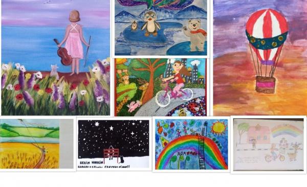 Выставка юных художников из России и Турции открылась в Аланье
