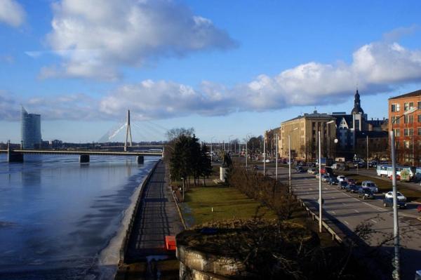 На следующей неделе в Риге пройдет ремонт набережной 11-го ноября