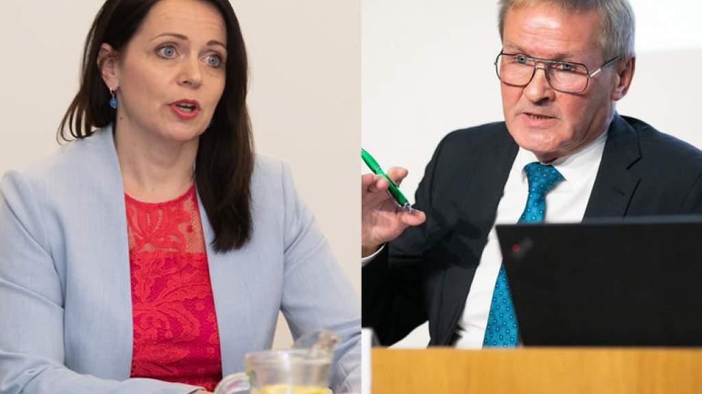 Центристы утвердили кандидатуры Ааба и Отт на посты министров