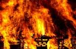 При пожаре в Таллинне пострадал человек