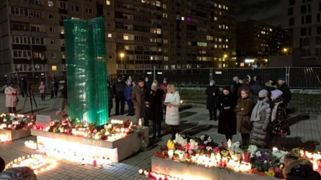 Пожарные включили сирены в знак памяти жертв Золитудской трагедии (+ВИДЕО)