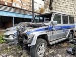 В Москве найден склад разбитых полицейских автомобилей