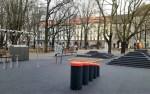 В парке Таммсааре появилась новая игровая площадка с музыкальными инструментами