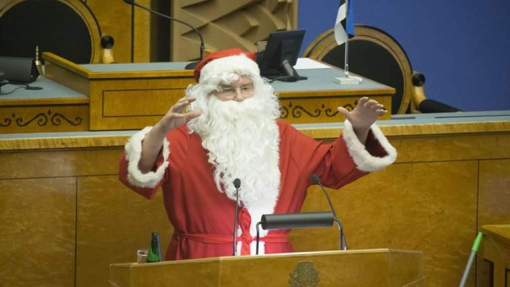 Компанию Деду Морозу в зале Ригийкогу составит лишь Каллас