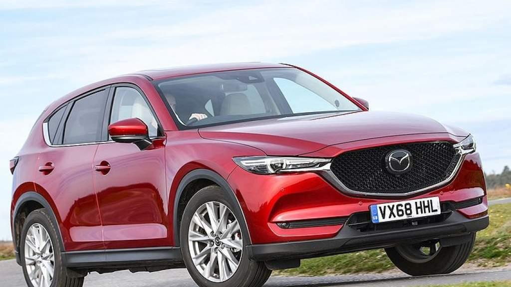 Mazda превратит кроссовер CX-5 в заднеприводное кросс-купе