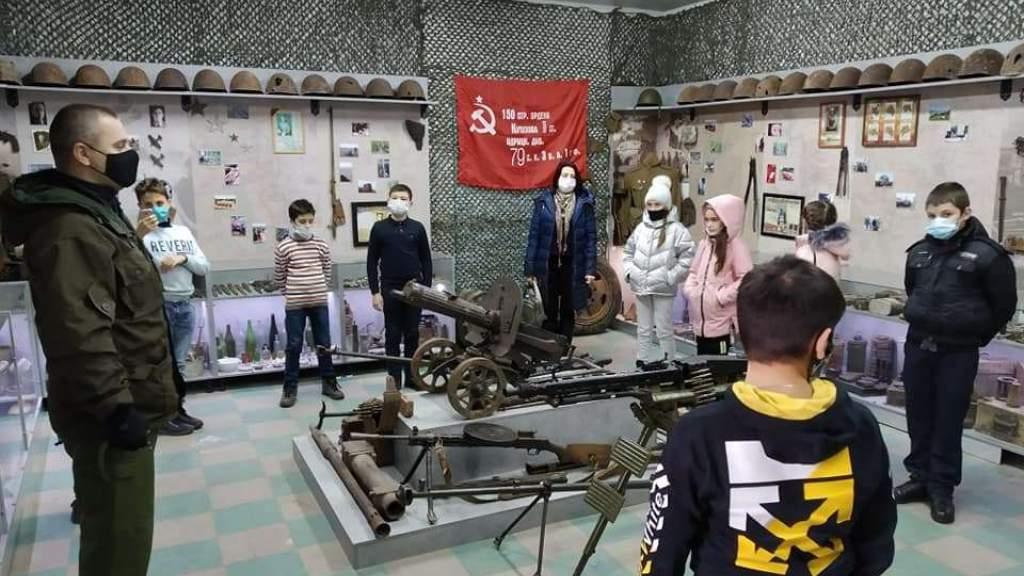 Молдавским школьникам рассказали о войне и поисковом движении