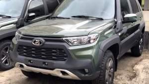 Новая LADA Niva станет похожа на Toyota RAV4: первые фото