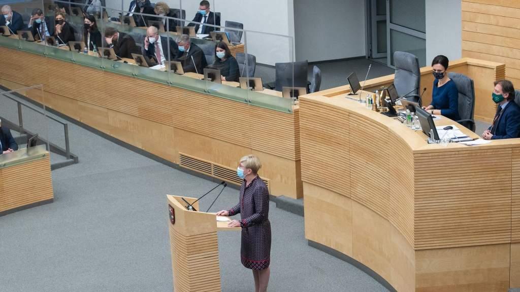Похожа на Франкенштейна: Сейм Литвы утвердил правительственную программу