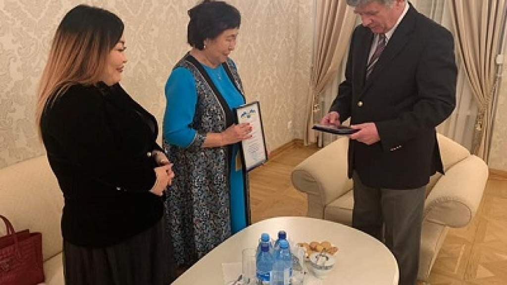 Посол в Эстонии встретился с руководителями бурятского общества «Байкал»