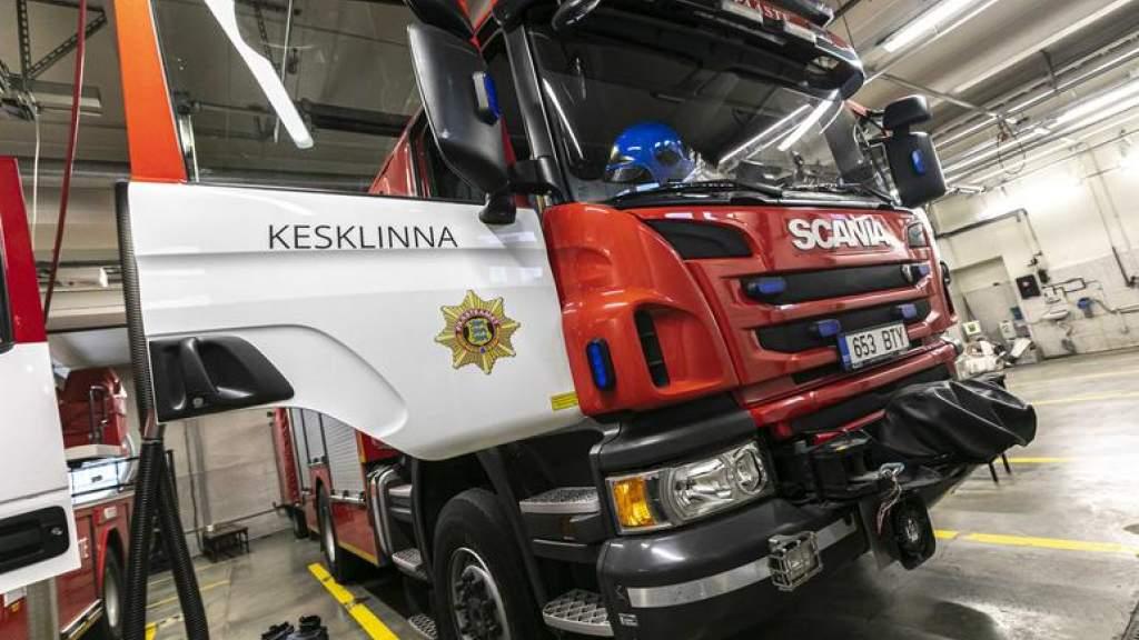 Пожар в Таллинне: спасены шесть человек, в т. ч. трое детей