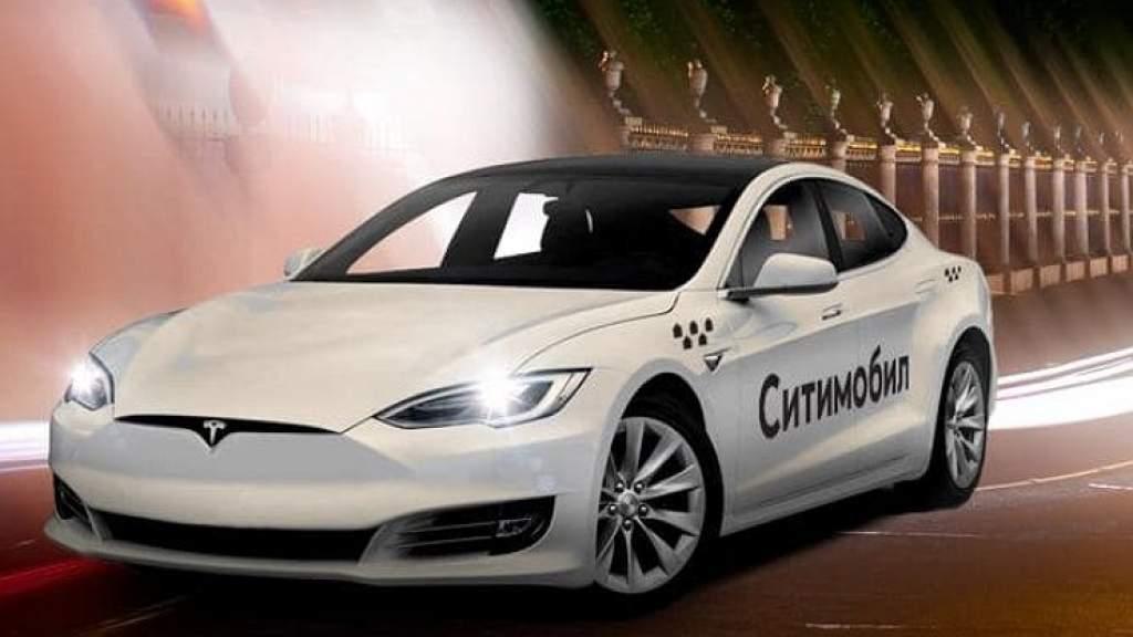 Tesla снова появилась в российском такси