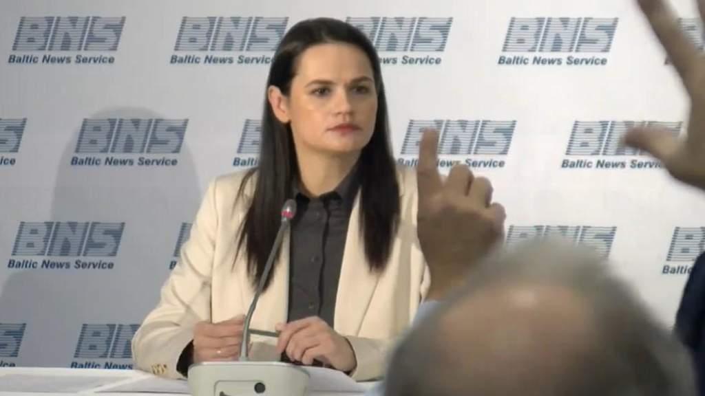 Тихановская призывает следовать примеру Литвы и расследовать преступления в Беларуси