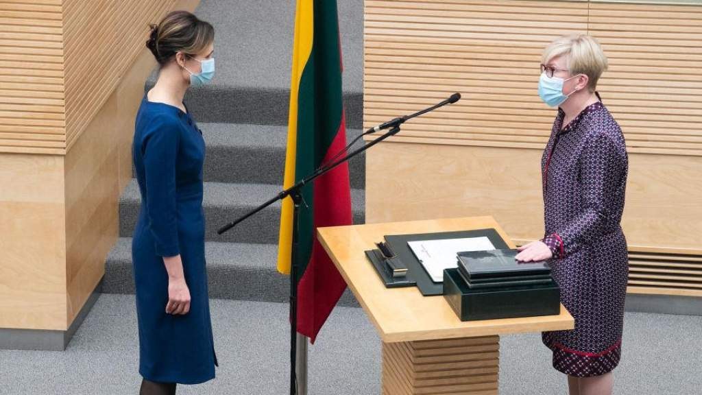 В сейме приведено к присяге новое правительство Литвы