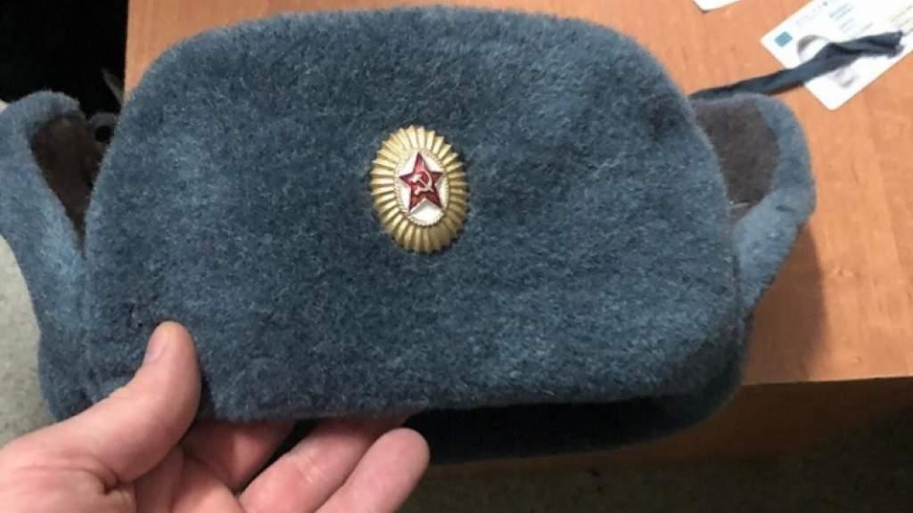 Во Львове возбудили уголовное дело из-за шапки-ушанки с советской символикой