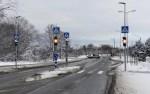 На перекрестке Нарвского шоссе, Вормси и Козе теэ в Ласнамяэ заработал светофор