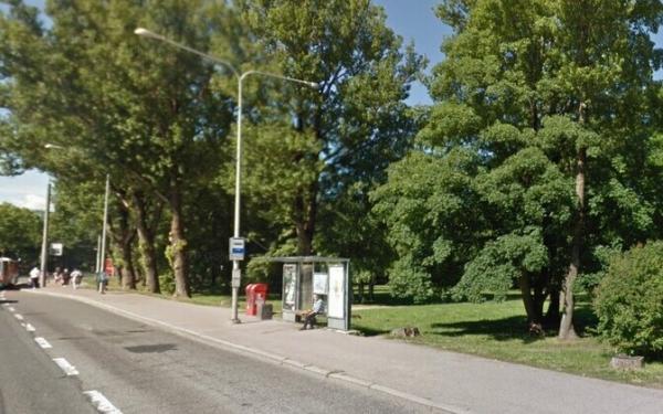 """Из-за строительных работ в Таллинне до мая закрыта автобусная остановка """"Поска"""""""