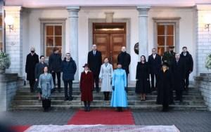 Новое правительство Эстонии вступило в должность