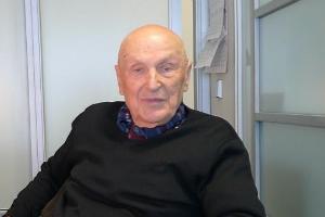 Академик и ветеран Михаил Лазаревич Бронштейн сегодня отмечает своё 98-летие