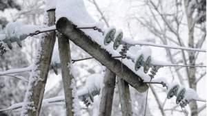 Электроснабжения в Литве нет у 55 тыс. потребителей