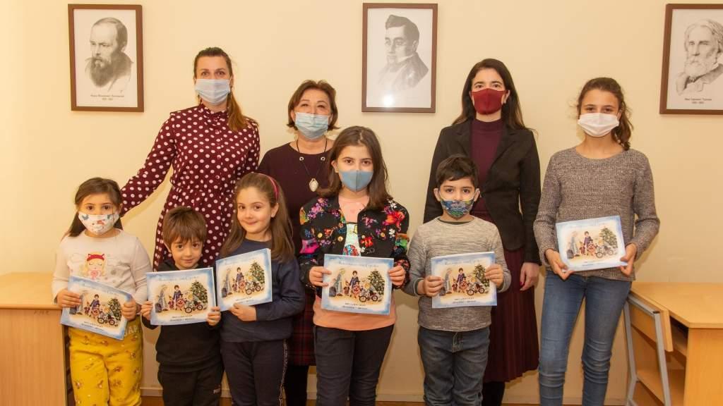 Книгу Ивет Александер «Новогодние сны Серёжи» представили в Ереване