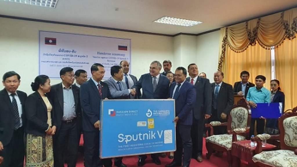 Лаос получил первую партию вакцины «Спутник V»