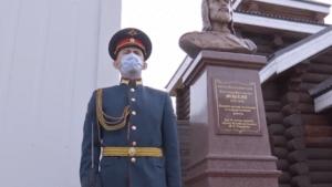 Памятник Александру Невскому открыли в Сирии