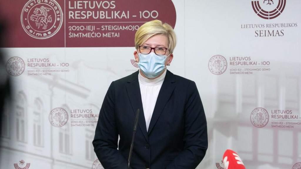 Премьер Литвы: после 31 января часть ограничений останется