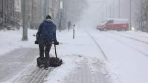 Приближается снегопад, обледенение и оттепель