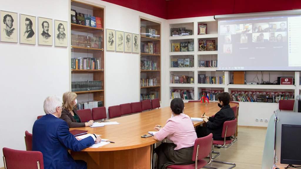 Руководство Приднестровского университета обсудило возможности сотрудничества с российскими вузами