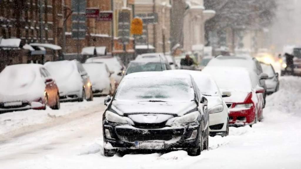В ближайшее время в Латвии ожидается сильный снегопад