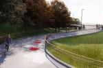 Ласнамяэ и Кадриорг соединит новый велосипедно-пешеходный мост