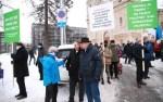 Защитники семьи и традиций устроили пикеты перед зданиями КаПо и прокуратуры